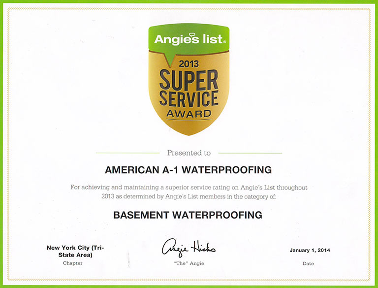 American A 1 Waterproofing   Central U0026 North Jersey Basement Waterproofing  U0026 Foundation Repair.